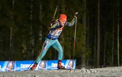 Биатлон Украинка Яна Бондарь завоевала серебро в Кубке IBU