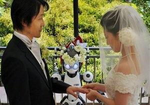 Свадебную церемонию в Токио впервые провел робот