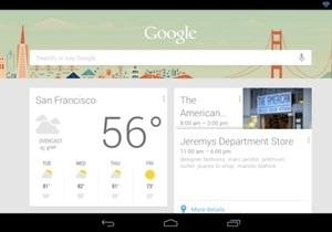 Google Now - Убийца Siri из Android приходит в iPhone и Windows 8