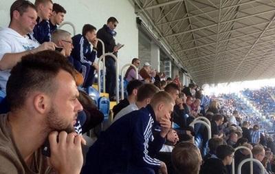 Игроки киевского Динамо посетили матч Малаги против Барселоны