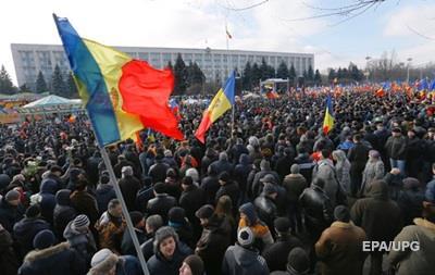 Мітинг в Кишиневі завершився