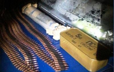 На Донбассе у волонтера изъяли гранатомет и патроны