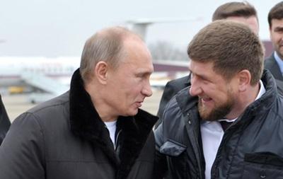 Путин поблагодарил Кадырова за Чечню