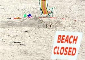 На одном из пляжей Испании засыпало песком немецкого туриста