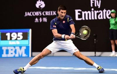 Australian Open: Джокович пробивається до півфіналу, де зустрінеться з Федерером