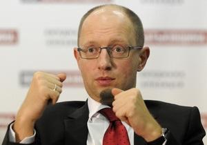 В Батьківщине заявляют о рассылке неизвестными писем с фиктивной почты Яценюка