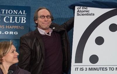 Часы судного дня  показывают три минуты до Апокалипсиса