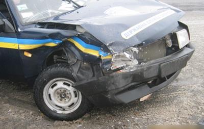 В Сумах авто полиции попало в ДТП