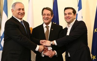 Израиль, Греция и Кипр намерены построить общий газопровод - СМИ