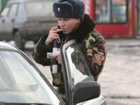 Украинские пограничники на границе с Россией обнаружили в автомобиле спрятанную икону