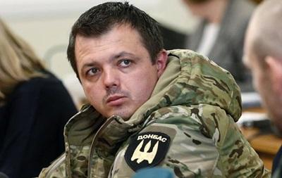 Семенченко лишен звания офицера - СМИ