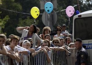 Среди задержанных у здания суда, где зачитывают приговор участницам Pussy Riot, оказался Каспаров