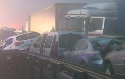 В Словении столкнулись 50 автомобилей