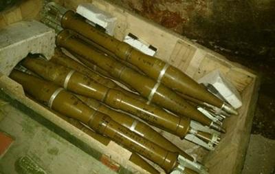 В зоне АТО нашли тайник с боеприпасами