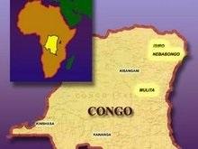 В горах Конго разбился самолет