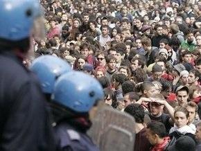 Итальянские транспортники объявили забастовку