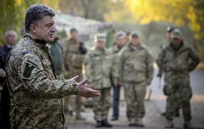 Порошенко назвал число пленных украинцев в ЛДНР