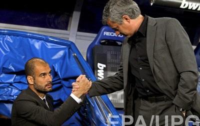 Моуринью отказался пожелать Гвардиоле удачи в Манчестер Сити