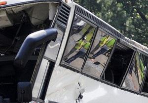 В Китае перевернулся автобус: погибли девять человек