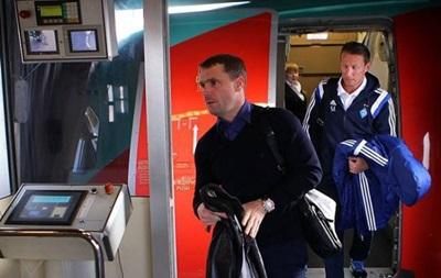 Ребров взял в Испанию 22 футболиста Динамо