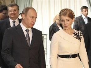 Тимошенко уверена, что договорится с Путиным по вопросу закачки газа в ПГХ