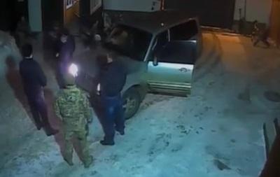 Появилось видео скандала на одесской базе ВМС