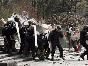 Ъ: Россия передала Молдове партию спецсредств для подавления демонстраций