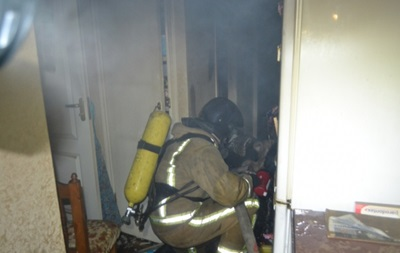 При пожаре в Одессе погибли два человека