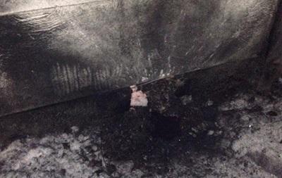 В Днепропетровске во двор дома бросили гранату
