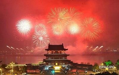 В Китае запретили фейерверки во время празднования Нового года