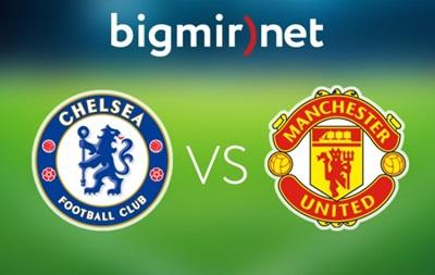 Челси - Манчестер Юнайтед 1:1 Онлайн трансляция матча чемпионата Англии