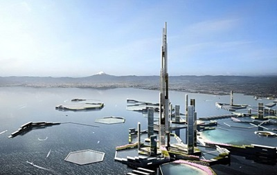 В Японии построят дом высотой в полтора километра
