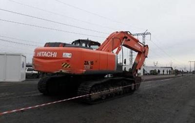 СБУ блокировала перемещение в ДНР экскаватора
