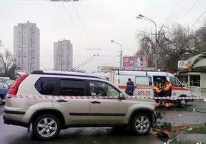 В результате ДТП в Днепропетровске погибли три женщины и ребенок