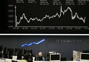 Украинские фондовые биржи открылись падением