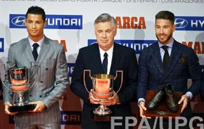 Криштиану Роналду получил награду лучшего бомбардира прошедшего сезона