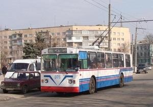 В Белой Церкви пятые сутки не ходят троллейбусы