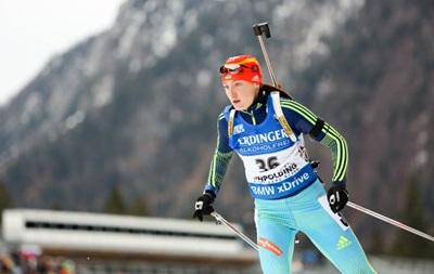 Украинская биатлонистка временно отстранена от соревнований из-за допинга