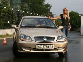 Менее чем за два года украинцы приобрели 10 000 Geely CK