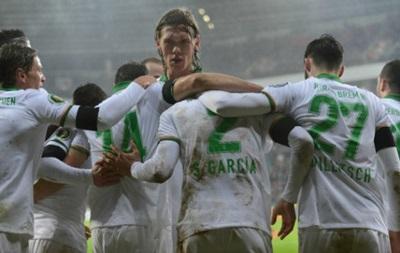 Вердер Віктора Скрипника став першим півфіналістом Кубка Німеччини