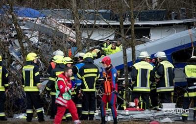 СМИ узнали причину столкновения поездов в Германии