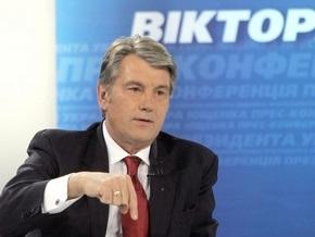 Ющенко передумал останавливать программу развития цифрового ТВ в Украине