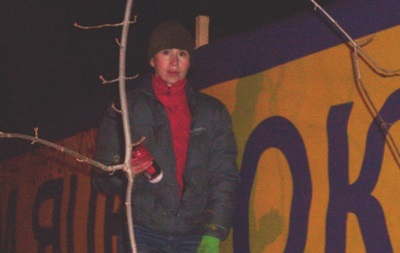 На Чорновол пожалуются в ГПУ за порчу палаток  тарифного Майдана