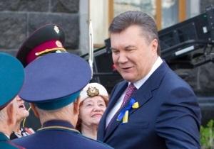 В День Победы Янукович рассказал украинцам о справедливости и собственных социнициативах