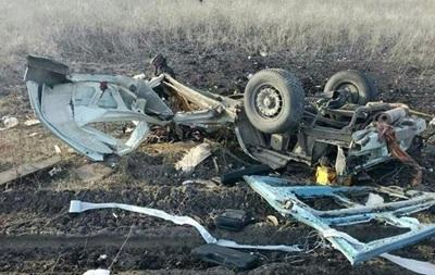 Взрыв маршрутки под Марьинкой: данные о четвертом погибшем не подтвердились
