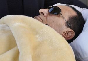 Египтяне в соцсетях сообщают о клинической смерти Мубарака, СМИ информацию опровергают