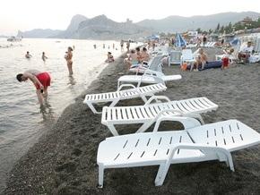 В этом году Крым принял на 700 тысяч меньше отдыхающих