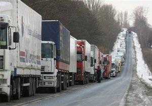 Дальнобойщики заблокировали движение на польско-белорусской границе