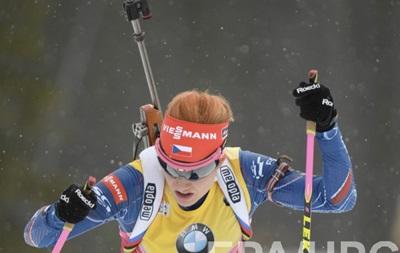 Биатлон: Соукалова побеждает в женском спринте, Пидгрушная - 14-ая