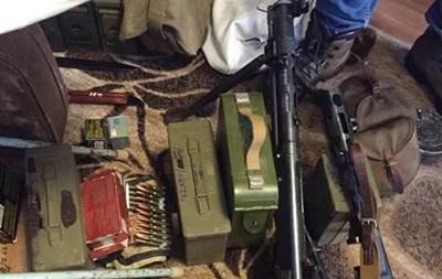 В доме киевлянина обнаружен арсенал оружия с зоны АТО